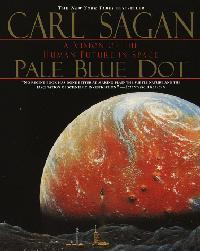 A pale blue dot carl sagan book